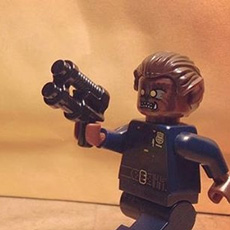 Lego Wolfcop vs. the Joker by @mrweybright via Instagram
