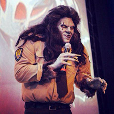 Pablo Guisa, the Mexican WolfCop